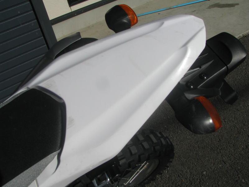 中古車情報 ヤマハ WR250R ホワイト リヤカウルの傷