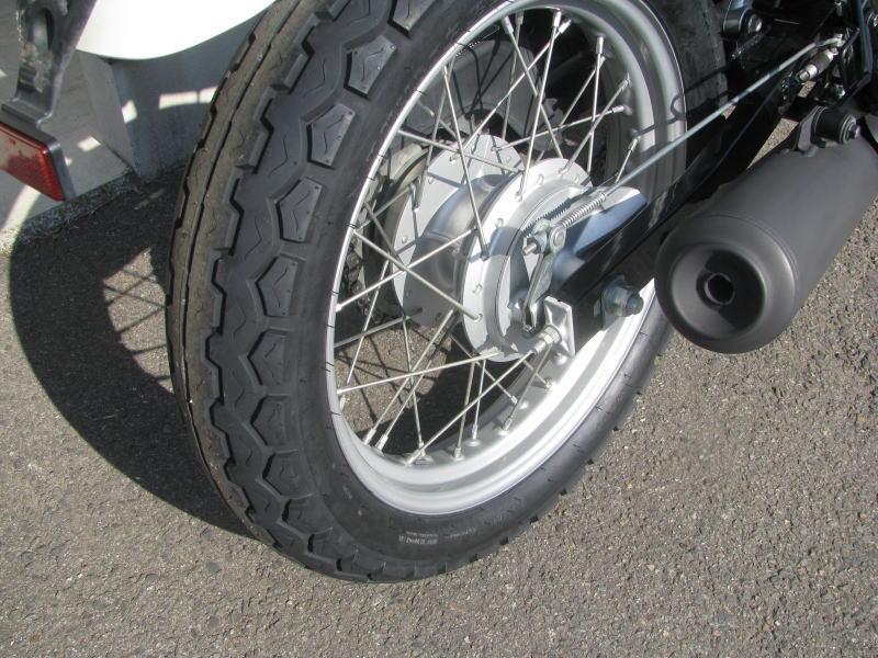 中古車情報 ホンダ CB223S ホワイト リヤタイヤ