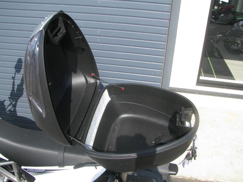 中古車情報 カワサキ KLX125 ホワイト トップボックス