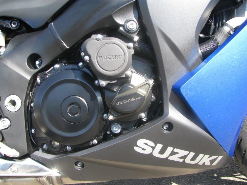 中古車情報 スズキ GSX-S1000F ABS ブルー みぎ側のエンジンガード