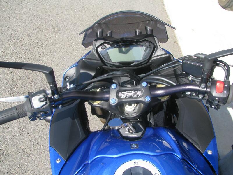 中古車情報 スズキ GSX-S1000F ABS ブルー メーター周り