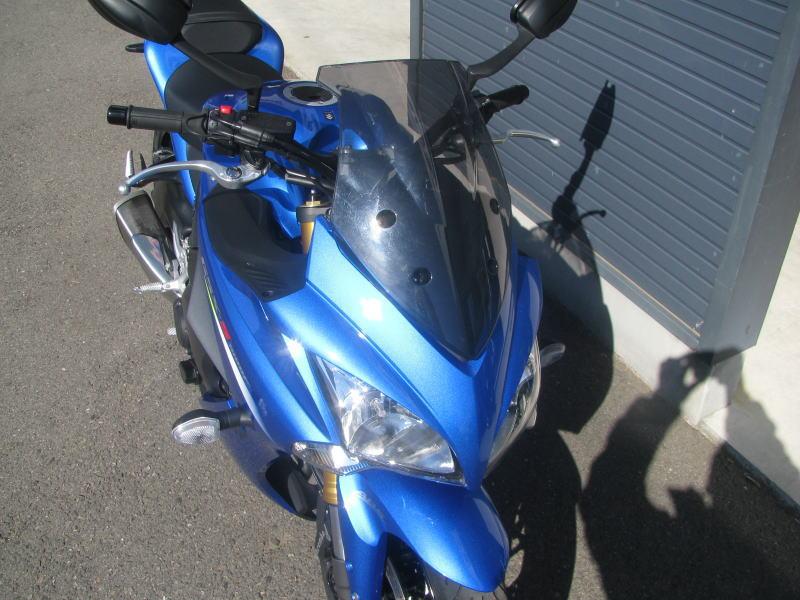 中古車情報 スズキ GSX-S1000F ABS ブルー フロントスクリーン