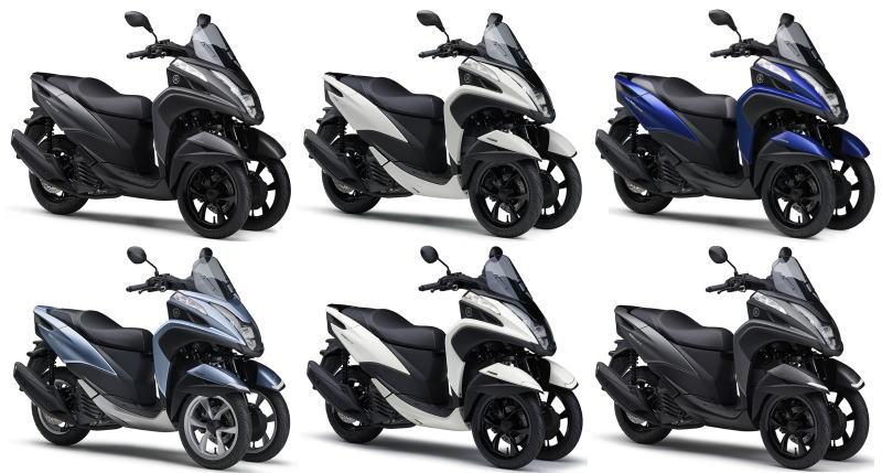 新商品 ヤマハ トリシティ155&トリシティ125/ABS 2019年モデル発表