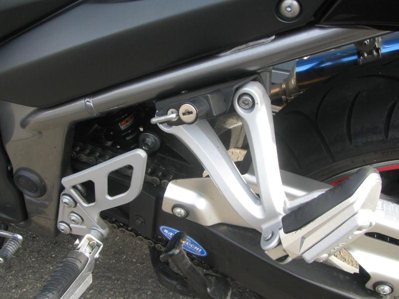中古車情報 スズキ バンディット1250F ブラック ヘルメットホルダー