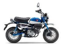 新商品情報 ホンダ モンキー/ABS に新色ブルーが発表されました。