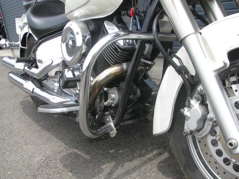 中古車情報 ヤマハ ドラッグスタークラシック1100(DSC1100) ホワイト エンジンガード