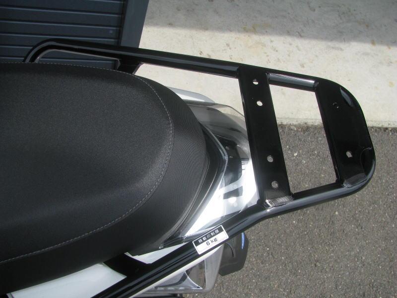 中古車情報 ヤマハ マジェスティS(155ccスクーター) ホワイト リアキャリア