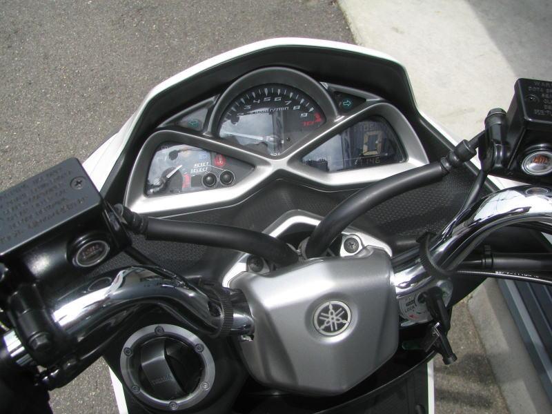 中古車情報 ヤマハ マジェスティS(155ccスクーター) ホワイト メーターパネル