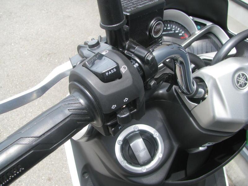 中古車情報 ヤマハ マジェスティS(155ccスクーター) ホワイト パッシングスイッチ