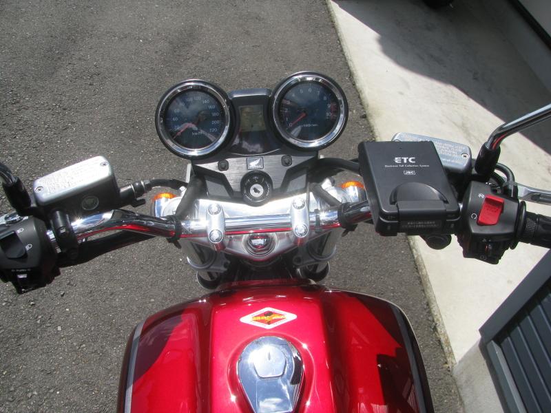 ホンダ CB1100 タイプ1 レッド ETC付き ハンドル周り