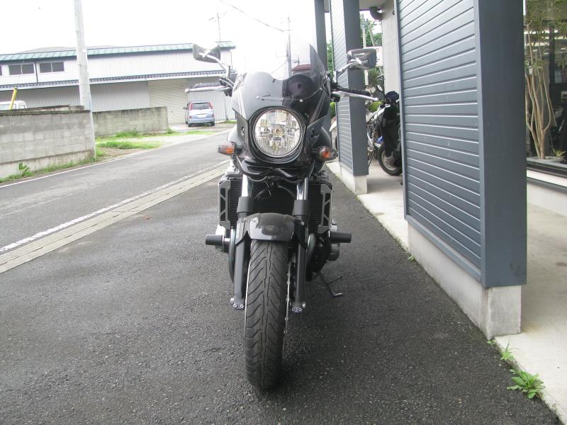 ホンダ CB1300スーパーフォア ブラック ETC付き まえ側