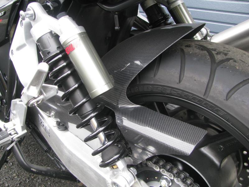 ホンダ CB1300スーパーフォア ブラック ETC付き リアインナーフェンダー