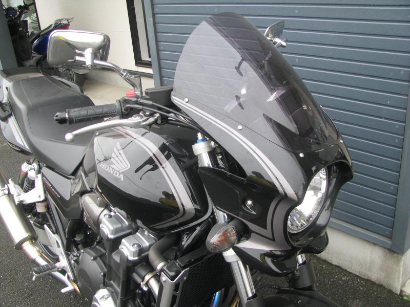 ホンダ CB1300スーパーフォア ブラック ETC付き アッパーカウル