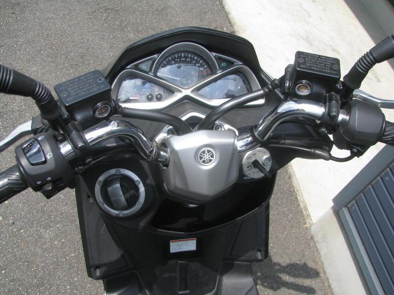 中古車バイク ヤマハ マジェスティS ブラック メーターパネル