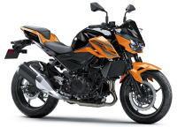 新商品情報 2020年モデル カワサキ Z250 ブラック/オレンジ