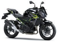 新商品情報 2020年モデル カワサキ Z400 ブラック/グリーン
