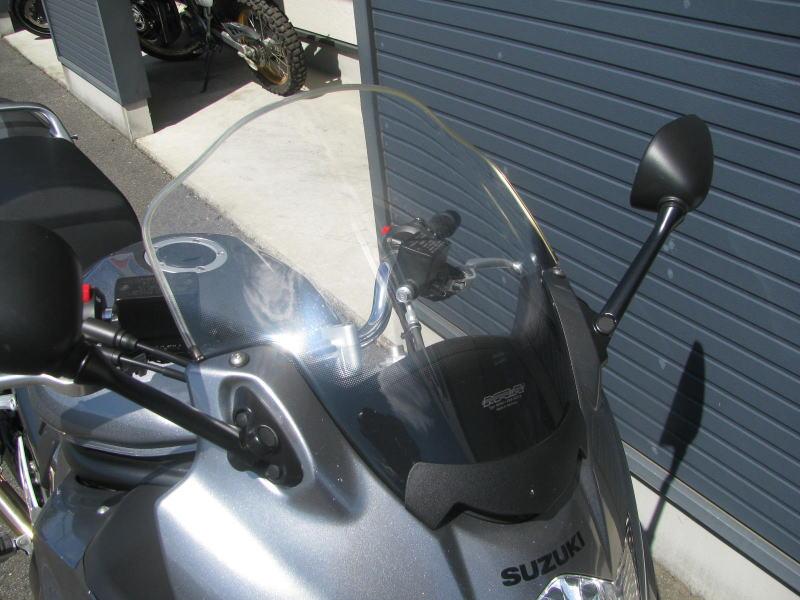 中古車 スズキ バイディット1250F グレイ ロングスクリーン