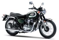 新商品情報 カワサキ W800 グリーン 2020年モデル