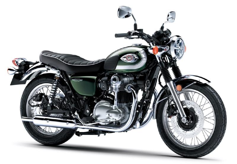 新商品情報 カワサキ W800 2020年モデル