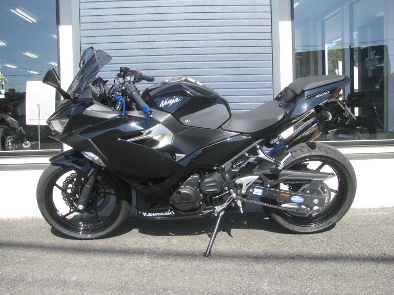 中古車バイク カワサキ NINJA400(ABS付) ブラック ひだり側