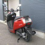 中古車情報 ホンダ ダンク(DUNK) (50ccスクーター) オレンジ うしろ側
