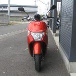 中古車情報 ホンダ ダンク(DUNK) (50ccスクーター) オレンジ まえ側