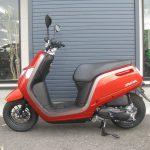 中古車情報 ホンダ ダンク(DUNK) (50ccスクーター) オレンジ ひだり側