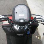 中古車情報 ホンダ ダンク(DUNK) (50ccスクーター) オレンジ メーターパネル周り