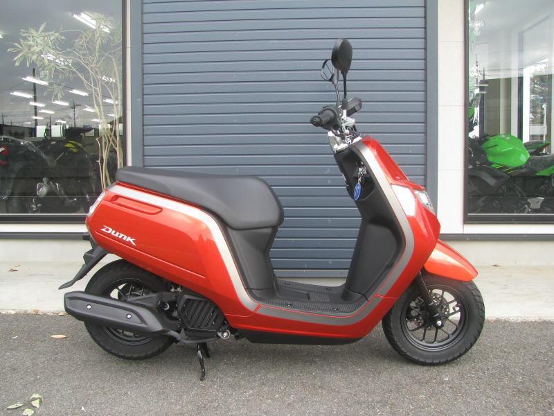 中古車情報 ホンダ ダンク(DUNK) (50ccスクーター) オレンジ みぎ側