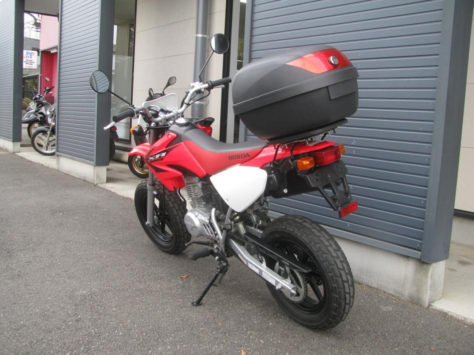 中古車バイク ホンダ XR50モタード(XR50motard) レッド 左うしろ側