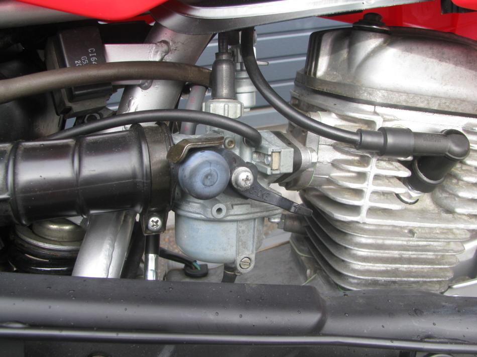 中古車バイク ホンダ XR50モタード(XR50motard) レッド キャブレーター
