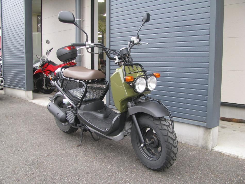 中古車バイク ホンダ ズーマー(ZOOMER) グリーン 右まえ側