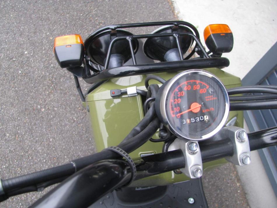 中古車バイク ホンダ ズーマー(ZOOMER) グリーン アラームランプ(盗難防止アラーム)
