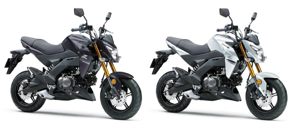 新商品 カワサキ Z125 2020年モデル発表