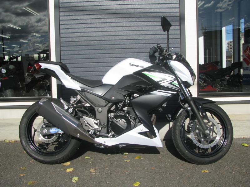 中古車バイク カワサキ Z250 ホワイト(白) みぎ側