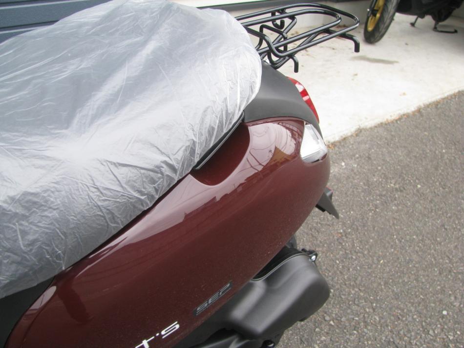 新車バイク スズキ レッツ ブラウン 2020年モデル スタンドグリップ
