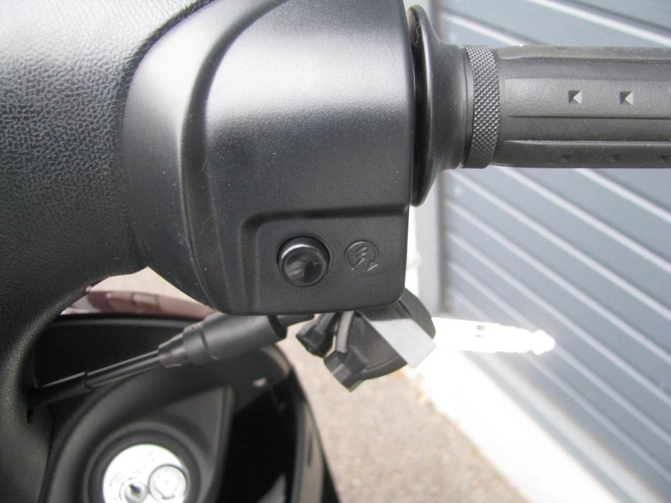 新車バイク スズキ レッツ ブラウン 2020年モデル ハンドル右スイッチ