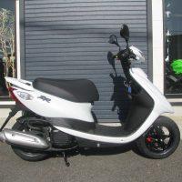 中古車情報 ヤマハ JOGZR(50ccスクーター) ホワイト みぎ側
