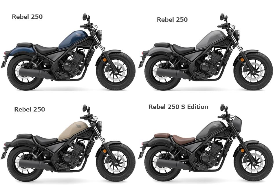 新商品情報 ホンダ レブル250(REBEL250)2020年モデル 3月19日発売