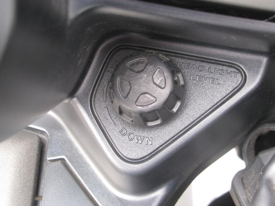 中古車情報 ヤマハ FJR1300AS グレイ ヘッドライト調整
