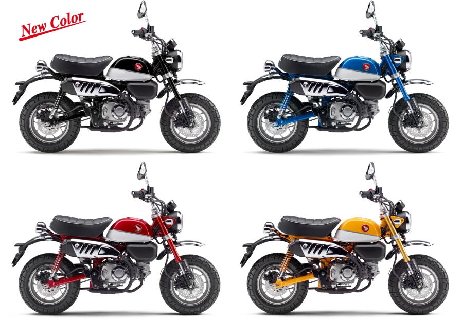 新商品情報 ホンダ モンキー125/ABS 2020年4月3日新色ブラック追加発売