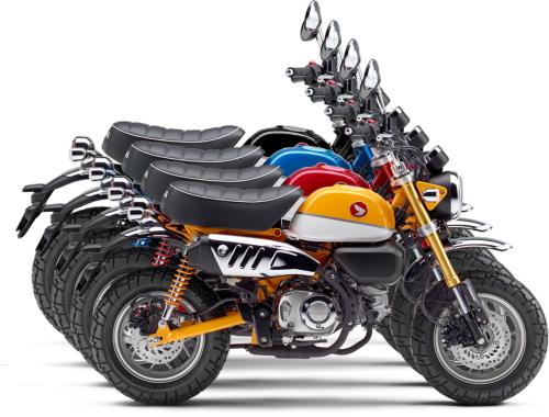 新商品情報 ホンダ モンキー125/ABS 2020年4月3日 新色ブラック 追加発売