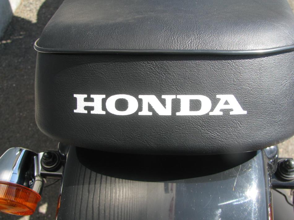 中古車情報 ホンダ Ape50(エイプ50) ブラック シートロゴ