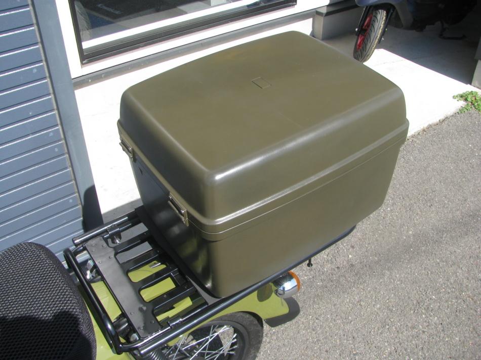 中古車 ホンダ クロスカブ110 グリーン トップボックス
