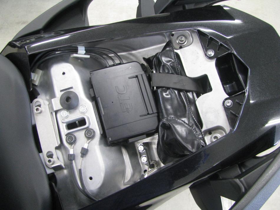 中古車情報 カワサキ NINJA1000 ABS ブラック 標準装備の分離型ETC