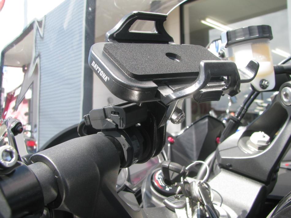 中古車情報 カワサキ NINJA1000 ABS ブラック アクセサリーバーとスマホホルダー