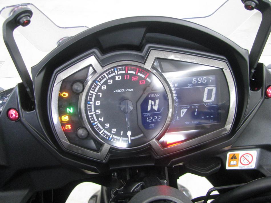 中古車情報 カワサキ NINJA1000 ABS ブラック メーターパネル