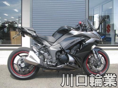 中古車情報 カワサキ NINJA1000 ABS ブラック SNS用画像