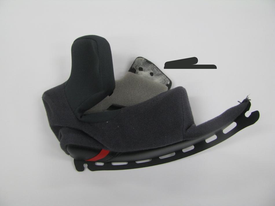 ショウエイヘルメット メガネスリット 加工画像4