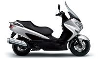 新商品 スズキ バーグマン200(シルバー) 2020年モデル発売